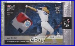 2018 Topps NOW MLB HRD-19A Max Muncy Home Run Derby Sock Relic 48/49