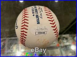 2019 Home Run Derby Game Used Pete Alonso Polar Bear Single Signed Baseball Jsa