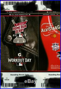2019 MLB ALL STAR GAME Home Run Derby TICKETS (4 Tickets Avail-Selling in Pairs)