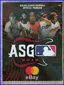 2019 MLB All Star Game & Home Run Derby Ticket Stubs Two Full Strips & Program
