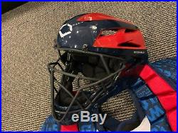 2019 Mlb All Star Game Homerun Derby Used Catchers Equipment Evoshield 1/1 Getty