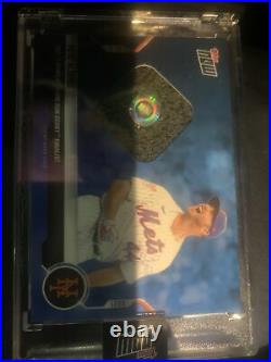 2019 TOPPS NOW PETE ALONSO HOME RUN DERBY SOCK RELIC CARD 44/49 1/1 Jersey #