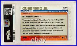 2019 Topps Chrome Update Vladimir Guerrero Jr. #US272 Home Run Derby RC PSA 10