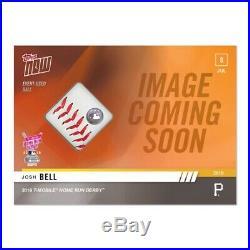 2019 Topps NOW HRD11B Josh Bell /5 Home Run Derby Ball Relic Card Pirates
