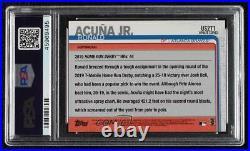 2019 Topps Update Home Run Derby 150th Anniversary Ronald Acuna Jr Acuña PSA 10