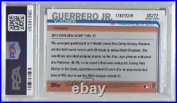 2019 Topps Update Home Run Derby Gold /2019 Vladimir Guerrero Jr PSA 9 Rookie