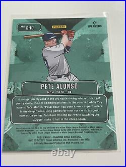 2021 Diamond Kings PETE ALONSO Downtown SSP D-10 Case Hit! Home Run Derby