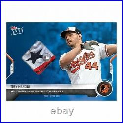 2021 MLB TOPPS NOW Home Run Derby Sock Relic # to 49 Trey Mancini