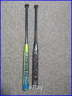 2 Homerun Derby shaved softball bats
