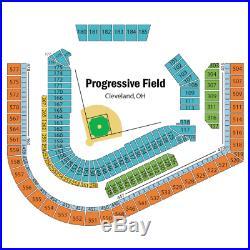 2 MLB Baseball Home Run Derby Tickets Progressive Field Bleacher 185 Row Z July8