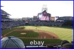 2 MLB Home Run Derby tickets Club Level! Great View Over The Field