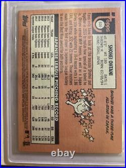 (5)Shohei Ohtani 2018 Topps Heritage High Number Rookie Card Lot #600 Angels RC