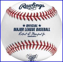 (6) Rawlings 2018 Home Run Derby Major League Baseball Washington Boxed