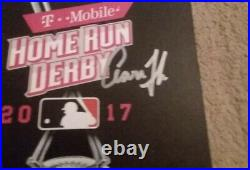AARON JUDGE AUTOGRAPHED HOME RUN DERBY PROGRAM COA Included See Pics
