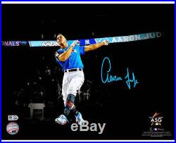 AARON JUDGE Autographed 11x 14 Home Run Derby Spotlight Photograph FANATICS