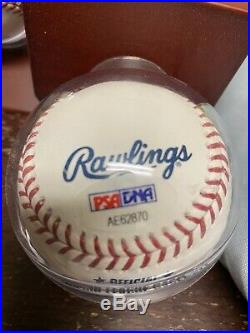AARON JUDGE Autographed Authentic 2017 Home Run Derby Baseball PSA Certified