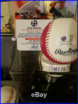 AARON JUDGE Signed Authentic 2017 Home Run Derby Moneyball Baseball COA