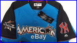 AARON JUDGE YANKEES AUTHENTIC 2017 HOME RUN DERBY ALL STAR JERSEY SIZE 44 large