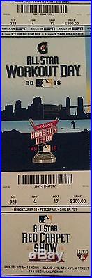 A set of 2 All Star Home Run Derby tix