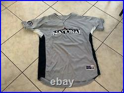 Aaron Cook Game Used 2008 All Star Game Home Run Derby Jersey Rockies MLB