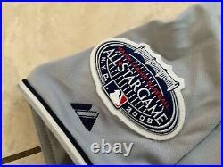 Aaron Cook Game Used 2008 Home Run Derby Jersey YANKEE STADIUM Rockies MLB