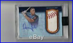 Aaron Judge 2018 Topps Dynasty 2017 Rc Home Run Derby Baseball Patch Auto 1/5