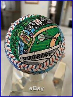 Aaron Judge Autographed Fazzino 2017 All Star & Home Run Derby Baseball JSA LOA