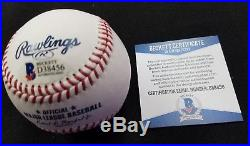 Aaron Judge Autographed Official 2017 Home Run Derby Baseball Beckett COA