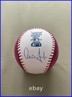 Aaron Judge Autographed Signed NY Yankees 2017 Home Run Derby Baseball MLB COA