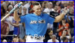 Aaron Judge Home Run Derby Signed Jersey