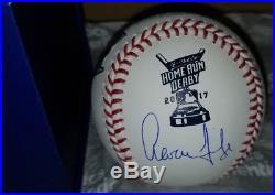 Aaron Judge Home Run Derby Signed Romlb Baseball Fanatics Mlb Full Sig Flawless
