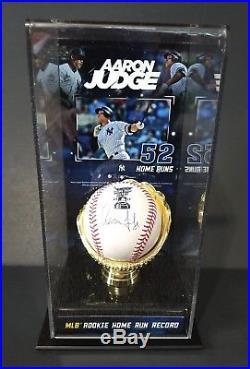 Aaron Judge Home Run Derby Signed Romlb Baseball Fanatics Mlb With Case Flawless