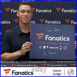 Aaron Judge NY Yankees Autographed Chandler Home Run Derby Model Bat Fanatics