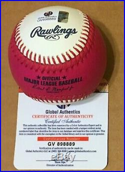 Aaron Judge New York Yankees Signed 2017 Home Run Derby Baseball COA
