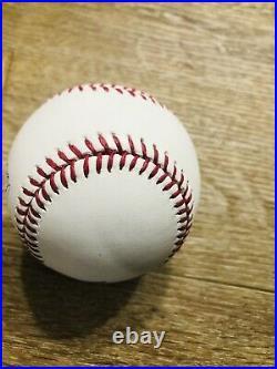 Aaron Judge New York Yankees Signed 2017 Home Run Derby Baseball Fanatics MLB