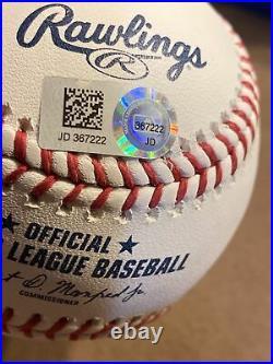 Aaron Judge New York Yankees Signed 2017 Home Run Derby Baseball Fanatics Rare