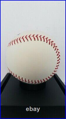 Aaron Judge New York Yankees Signed 2017 Home Run Derby Logo Baseball