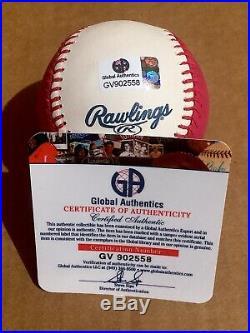 Aaron Judge New York Yankees Signed 2017 Home Run Derby OML Baseball COA