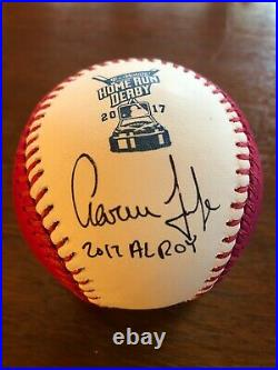 Aaron Judge Signed 2017 Home Run Derby Ball For Charity! COA/PSA