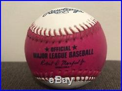 Aaron Judge Signed 2017 Home Run Derby Baseball COA Hologram