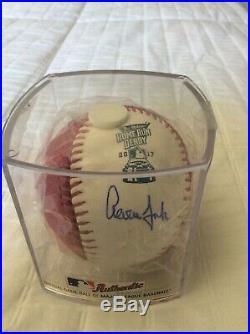 Aaron Judge Signed 2017 Home Run Derby Money Ball Fanatics/ MLB COA
