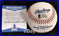 Aaron Judge Signed Autographed 2017 HRD Home Run Derby Baseball Beckett COA