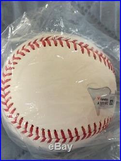 Aaron Judge Yankees signed 2017 Home Run Derby baseball Fanatics MLB holo COA
