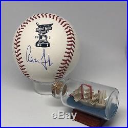 Aaron Judge signed 2016 Home Run Derby Baseball Fanatics HOLO Yankees HOF A546