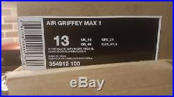 Air Griffy max 1 # 354912 100 Home Run Derby Edition mens size 13