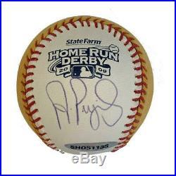 Albert Pujols St Louis Cardinals Autographed 2009 Home Run Derby Baseball JSA