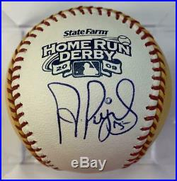 Albert Pujols St Louis Cardinals MLB Autographed Baseball 2009 Home Run Derby Ba