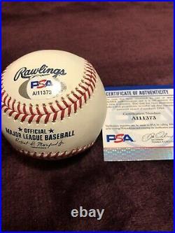 Alex Bregman Signed 2018 Home Run Derby Baseball PSA Coa Rare