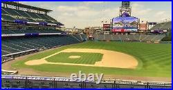 All-star Workout Day + Home Run Derby Game 4 Mlb Club Tickets 7-12-2021 Colorado