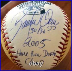 Bobby Abreu Autographed 2005 Home Run Derby Gold Ball